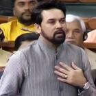 After being warned, Anurag Thakur apologises for mobile use in Parliament
