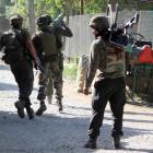 3 Lashkar terrorists, 1 civilian killed in Pulwama