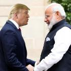The Modi hug vs the Trump handshake