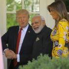 Modi and Trump: Of hugs and handshakes