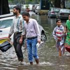 Heavy rain floods Mumbai; disrupt rail, road traffic