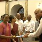 Prez poll: Meira Kumar files nomination papers