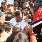 Mulayam meets rape-accused aide Gayatri Prajapati in jail