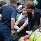 London attack: Hero MP battled to save life of stabbed police officer
