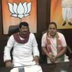 Ahead of MCD polls, AAP MLA Ved Prakash joins BJP