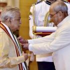 Murli Manohar Joshi, Sharad Pawar conferred Padma awards