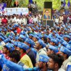 PHOTOS: Dalits protest Saharanpur violence at Jantar Mantar