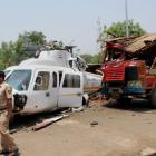 VIDEO: Chopper carrying Fadnavis crash-lands
