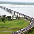 PHOTOS: India's longest bridge opened in Assam