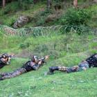 Two soldiers injured as Pakistan violates ceasefire