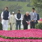 PHOTOS: PM, Pranab, Sonia remember Indira Gandhi on birth centenary
