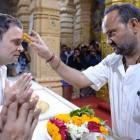 Visiting temples won't help Rahul