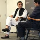 India not competing well with China, says Rahul in Princeton