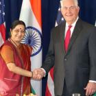 Swaraj meets Tillerson, discusses bilateral ties