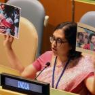 India hits out at Pakistan for using fake photo at UN