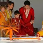 Canadian PM Trudeau and family go desi in Gujarat