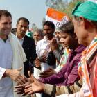 Rahul kicks off 2-day UP visit amid BJP protests; attacks Modi govt