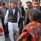 Rahul's 1st UP visit as Congress chief marred by protests
