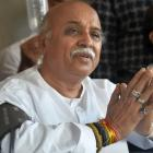 VHP's Togadia alleges plot to kill him; Congress seeks probe