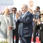 Modi, Netanyahu hold 8-km roadshow in Ahmedabad