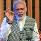 Every stone picked by misguided youths destabilises Kashmir: PM