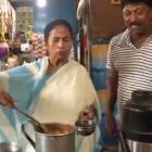 Mamata turns chaiwaala, brews tea at Digha stall