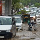 Rains lash Delhi, causes water-logging, traffic snarls