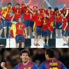 Glory for Spain and Messi but problems never far in 2012