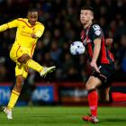 Sterling shines for Liverpool, Spurs thump Newcastle
