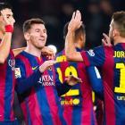 La Liga: Messi nets brace, Suarez finally scores in Barca rout