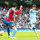 EPL PHOTOS: Silva gives Manchester City win, United held