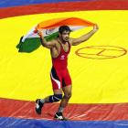 Sushil Kumar returns with gold at Commonwealth Wrestling