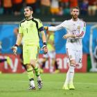 Ramos surprised by Casillas exclusion from Spain squad