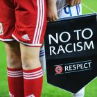 Ukraine handed stadium ban for racism