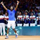Davis Cup: Gael-force Monfils upsets Federer
