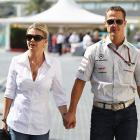 Doctor praises Schumi's wife for his progress; says it will take years for recovery
