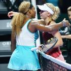 Serena Serena Williams puts friendship to side against Wozniacki