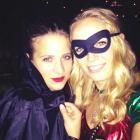 It's a Happy Halloween for Wozniacki 'Robin'