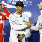 Bahrain Grand Prix: Hamilton takes fourth pole in a row