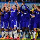 EPL PHOTOS: Chelsea inch towards title with gritty United win