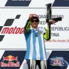 PHOTOS: Rossi reigns in Argentina after Marquez crashes out