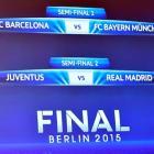Champions League Semis: It's Barcelona vs Bayern; Juventus vs Real