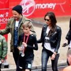 London Marathon: Beckhams, Button, Paula step out in style