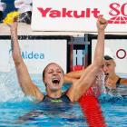 Swede Sjostrom sets world record in 100m butterfly