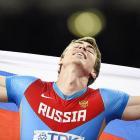 World Athletics PHOTOS: Russian Shubenkov wins 110m hurdles gold
