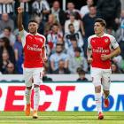 Premier League: Arsenal labour to victory over 10-man Newcastle