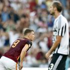 Euro soccer round-up: Roma hand Juve second successive defeat