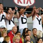 Australian Open Final: Murray levels at one-set all