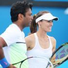 Indians at Aus Open: Paes-Hingis advance, Bopanna out