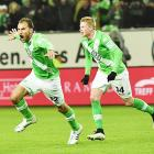 Bundesliga: Dost helps Wolfsburg end Bayern's unbeaten run